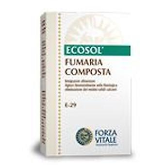 Forza Vitale Compost Extract Fumitory 10Ml. (Herbalist's , Natural extracts)