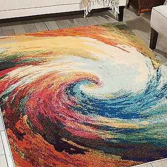 Celestial Rugs Ces07 Wave By Nourison