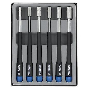 Electrical & precision engineering Screwdriver set 6-piece Donau Hex head