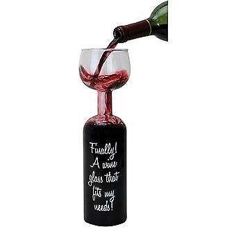 Wine Bottle Party Glass