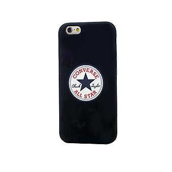 CONVERSE Shell Silikon iPhone 6 schwarz