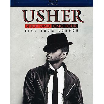Usher - Omg Tour-Live från London [BLU-RAY] USA import