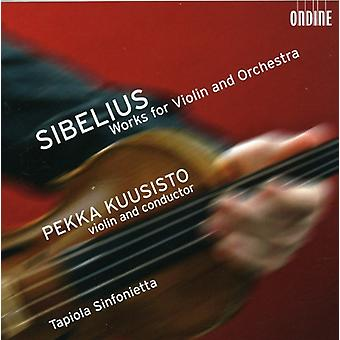 J. Sibelius - Sibelius: Works for Violin & Orchestra [SACD] USA import