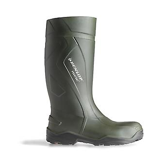 Dunlop D760943 Ladies Purofort Wellingtons Boots PU Pull On Fastening Footwear