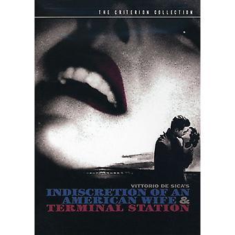 Indiscretion & Terminal [DVD] USA import