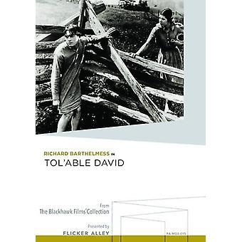Tol'Able David [DVD] USA importerer