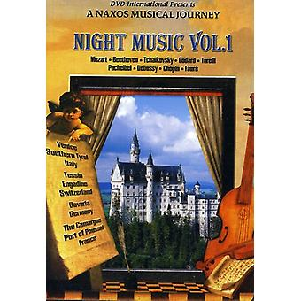 Nat musik Vol. 1 [DVD] USA importerer