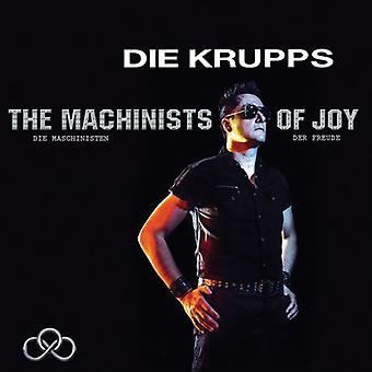 Die Krupps - maskinarbejdere glæde [CD] USA import