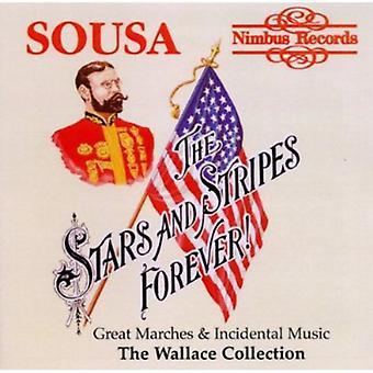 J.p. Sousa - Stars und Stripes Forever: Sousas große Märsche und Bühnenmusik [CD] USA importieren