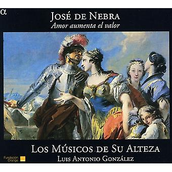 J. De Nebra - Jos  De Nebra: Amor Aumenta El Valor [CD] USA import