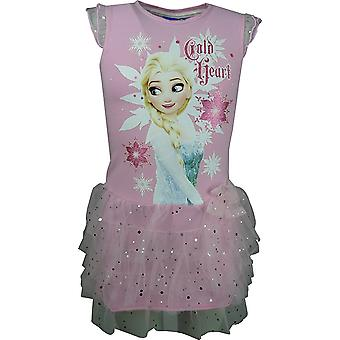 Disney Girls Frozen Girls Fancy Short Sleeve Dress