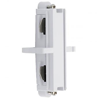 Ansell Lighting Track Butt Connector, White