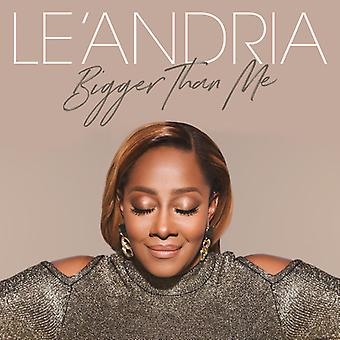Le'Andria Johnson - Bigger Than Me [CD] USA import