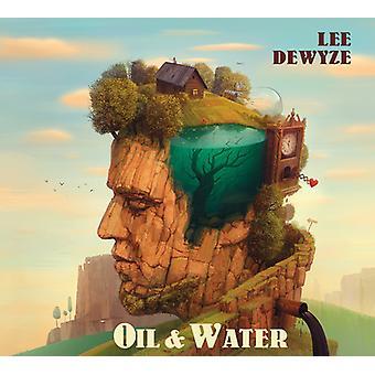 Lee Dewyze - aceite y agua [CD] USA importar