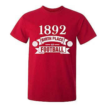 Liverpool Birth Of Football T-shirt (red)