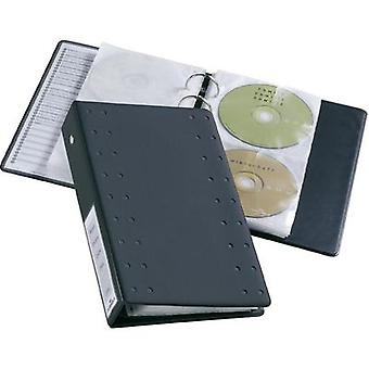Durable CD/DVD-Index 20 5204-58 Anthracite 20 CDs/DVDs (L x