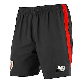 2017-2018 Athletic Bilbao Home Shorts (Black)