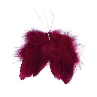 SALE - Bramble Feather Christmas Angel Wings for Crafts - Pack of 2