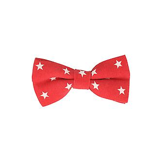 Andrews & co.-bound fly stars stars red loop bow tie 10 cm x 5.5 cm
