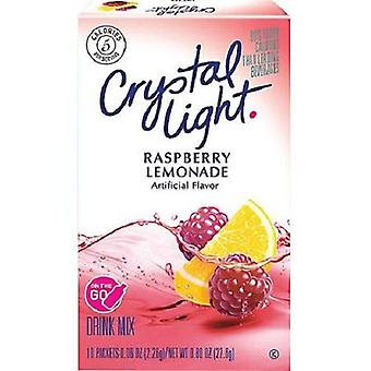 Crystal Light On The Go Raspberry Lemonade Sugar Free Soft Drink Mix