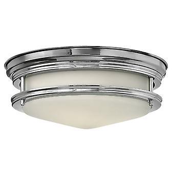 HK/HADLEY/F/BATH Hadley 2 Light Polished Chrome Bathroom Flush Light