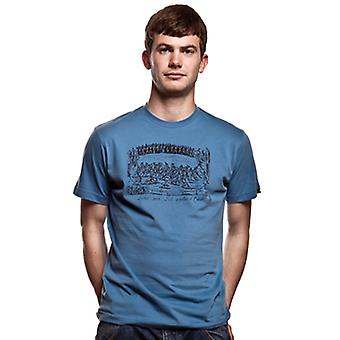 Ludus Quem Itali T-Shirt// Faded Blue 100% cotton