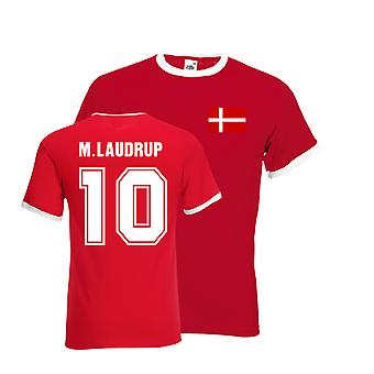 Michael Laudrup Ringer Tee (rot)
