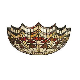Vesta Tiffany Style Wall Light - Interiors 1900 64378