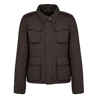 Aspesi men's 1I12102485327 Brown polyester jacket