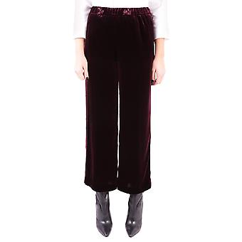 Aspesi ladies 0128A95001354 Bordeaux red viscose pants