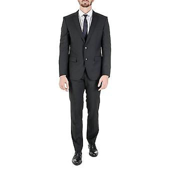 Hugo Boss Mens Suit Black Huge Genius