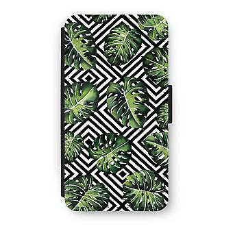 iPhone X Flip Case - Geometric jungle