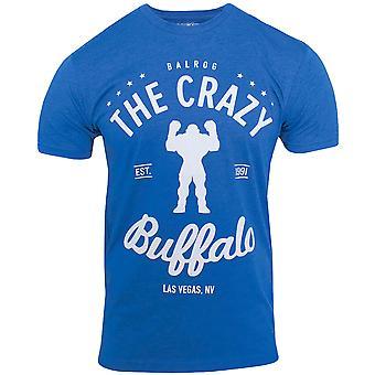 Capcom Crazy Buffalo Premium udstyret T-Shirt-kongeblå Lyng