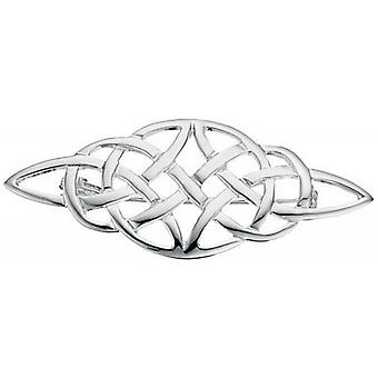 Beginnings Celtic Brooch - Silver