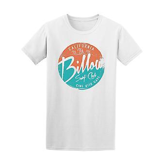 Kalifornian Billow Surf Club graafinen t-paita - kuva: Shutterstock