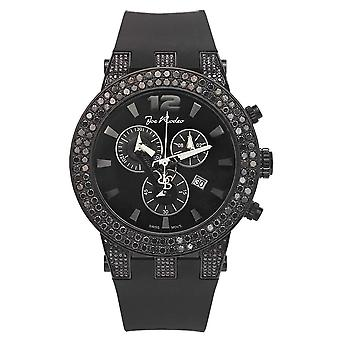 Joe Rodeo diamond men's watch - BROADWAY Black 6.5 ctw