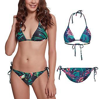 Urban classics ladies - tropical swimwear Hawaii bikini