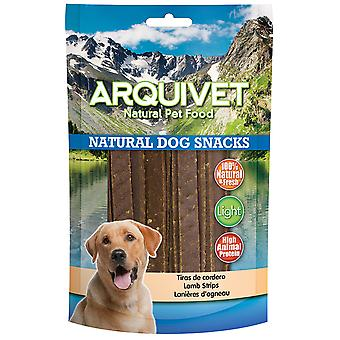 Arquivet Snack Natural para Perros Tiras de Cordero (Dogs , Treats , Natural Treats)