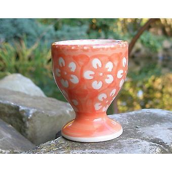 Egg Cup, Bolesławiec orange, BSN m-4572