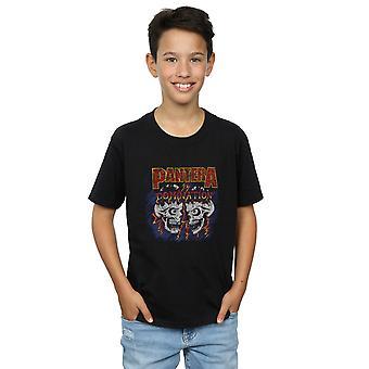 T-Shirt schedel overheersing van Pantera jongens