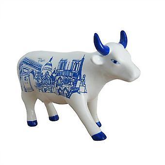 Paris Cow Parade Cow (medium ceramic)