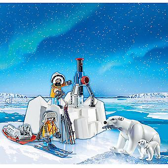 Playmobil actie Arctische ontdekkingsreizigers met ijsberen