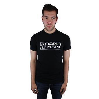 Emporio Armani 3Z1T86 1J0AZ 0999 Black T-Shirt