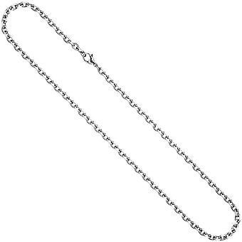 Stainless steel chain necklace chain stainless steel 80 cm necklace chain carabiner