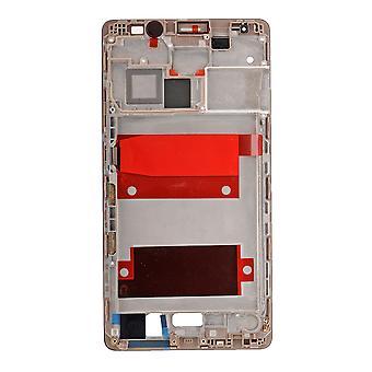 Huawei Mate 8 Obudowa przednia ramka LCD Bezel płyta - brązowy mokka