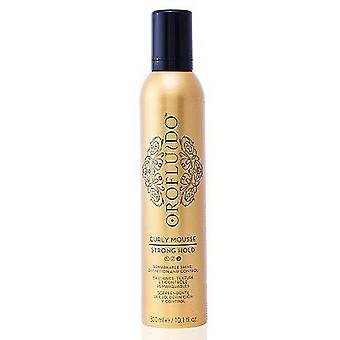 Orofluido Mousse Curly Strong Hold 300 ml (Hair care , Styling products)