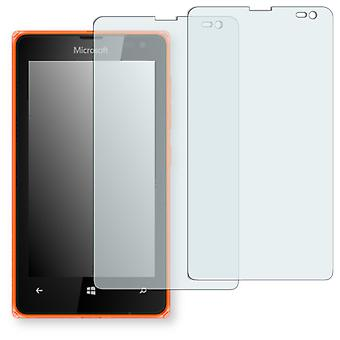 Microsoft Lumia 532 screen protector - Golebo crystal clear protection film