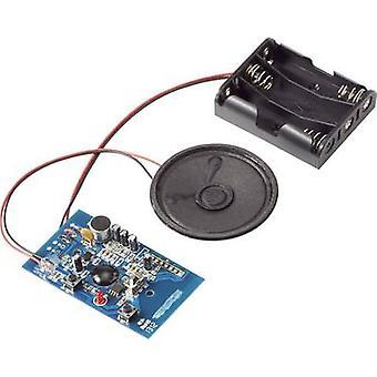 Audio recording unit Component Conrad Components BRC34M Recording Time 20 s