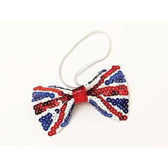 Union Jack Wear Union Jack Sequin Bow Tie