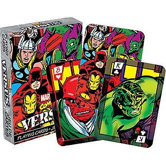 Marvel Comics im Vergleich (Col) Satz von 52 Spielkarten